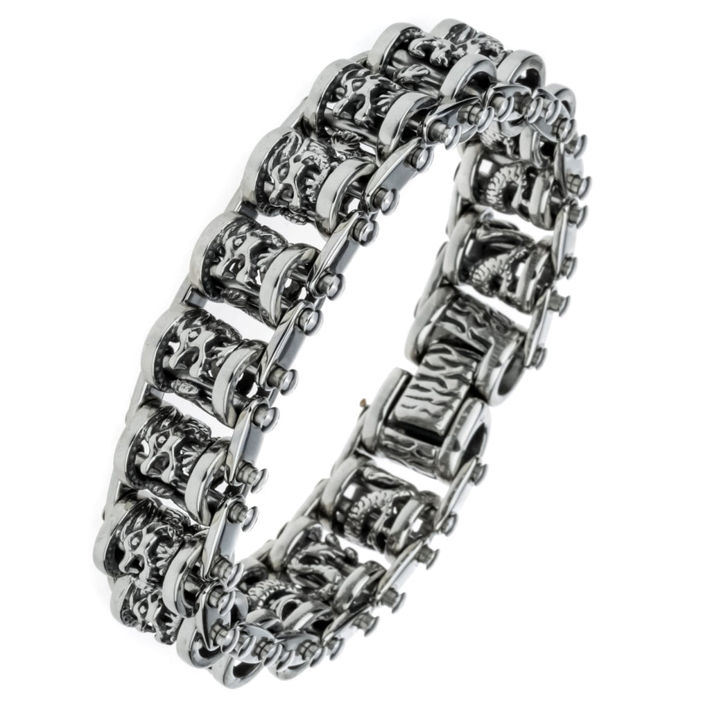 Dragon Stainless Steel Heavy Bracelet