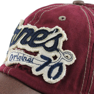 Embroidery Vintage Style Fashion Cap