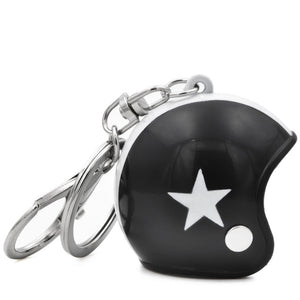 Mini Motorcycle Helmet  Key Chains - Giveaway !