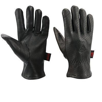 Genuine Leather Goatskin Breathable Gloves