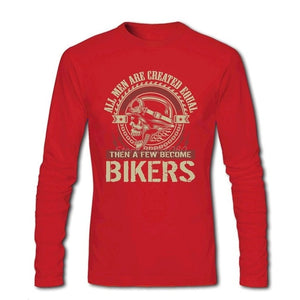 Become Bikers Full Sleeve T Shirt