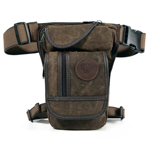 Canvas Leg side bag for Motorcycle Riders