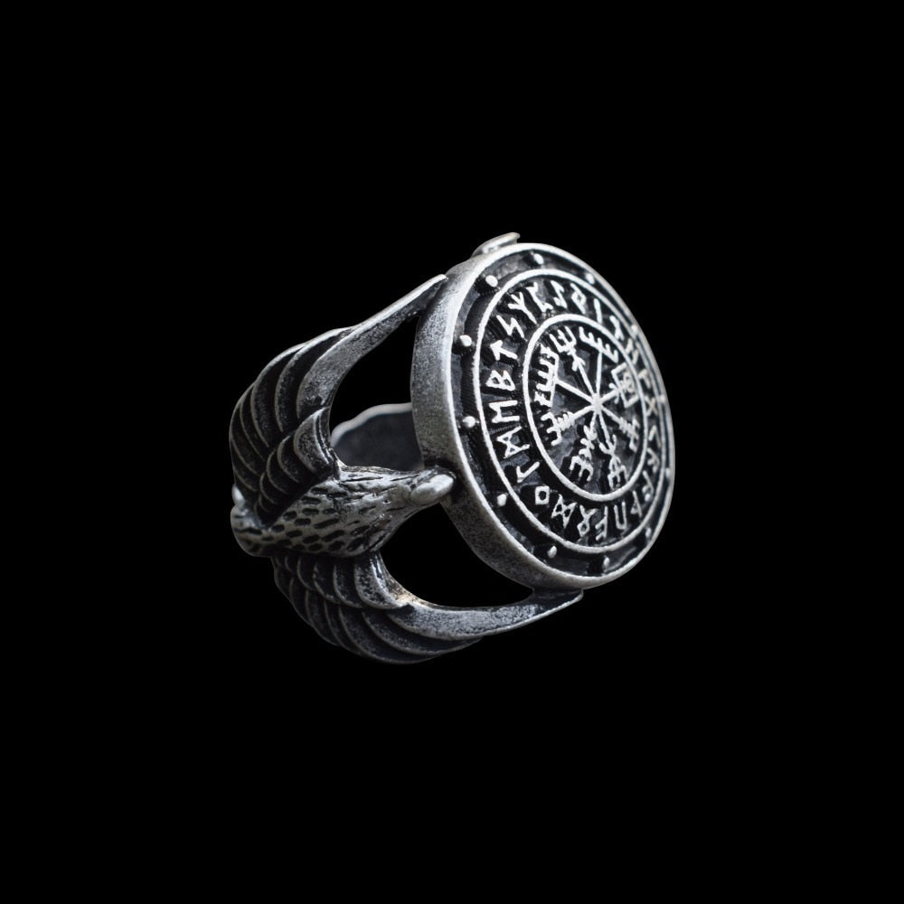 Vikings Compass Magic RIng