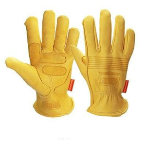 Genuine Sheepskin Motocross Biker Racing Gloves