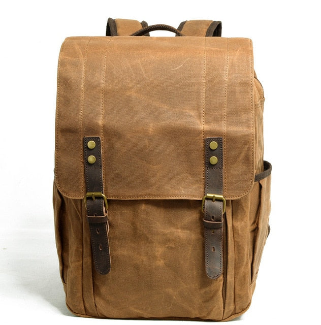 Canvas Vintage Large Capacity Backpack