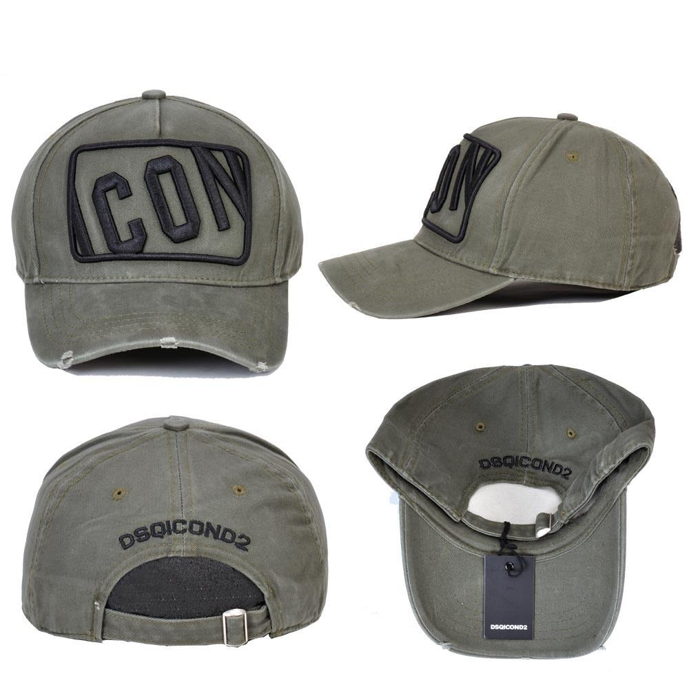 ICON Letters Embroidery Cotton Baseball Cap