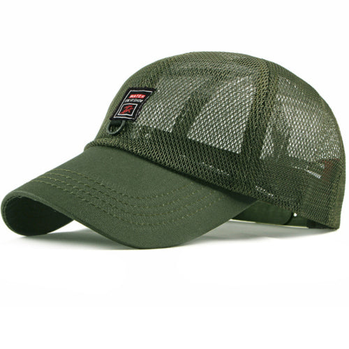 Breathable Adjustable Trucker Mesh Cap