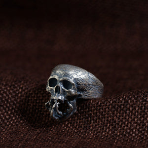 925 Silver Rings Cool Vintage Skull Ring
