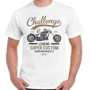 Challenge Legend Super Custom Motorcycle T-Shirt