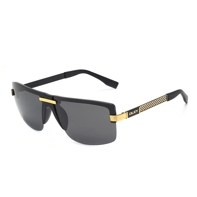 Frameless Classic Pilot Polarized Sunglasses