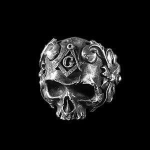 Masons Vine Skull Rings