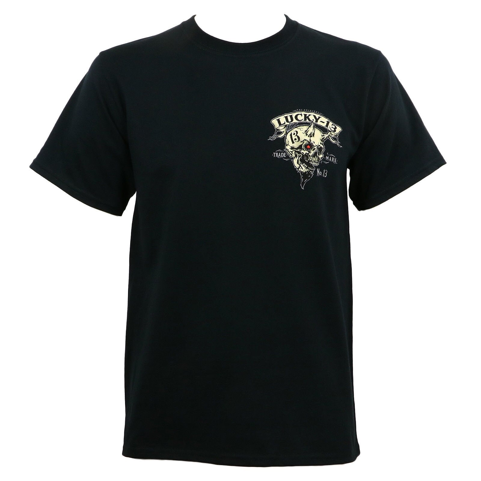 LUCKY 13 Evil Skull Born To Lose T-Shirt