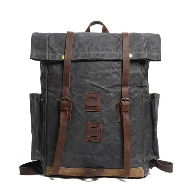 Mountaineering Canvas Shoulder Backpacks