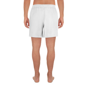 DudleyDudzz White Athletic Long Shorts