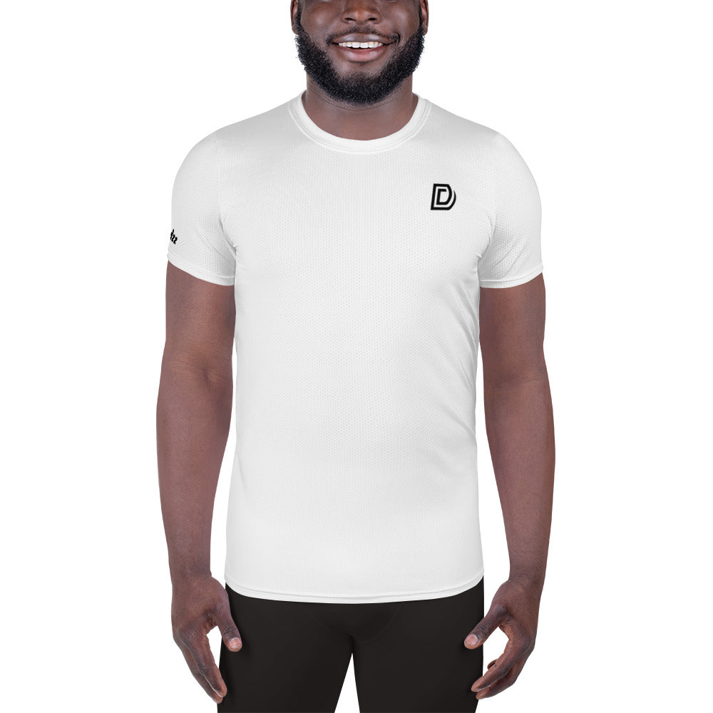 DudleyDudzz White Athletic Top