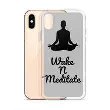 Load image into Gallery viewer, Wake N Meditate iPhone Case