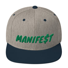 Load image into Gallery viewer, MANIFE$T Snapback