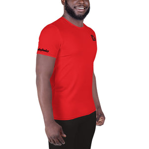 DudleyDudzz Ruby Red Athletic Top