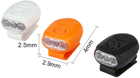 Baseball  LED Clip Headlight