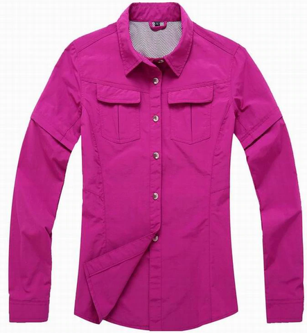 Quick Dry Women Hiking Shirt