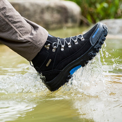 Leather Hiking Hunting Boots - Happy Health Star