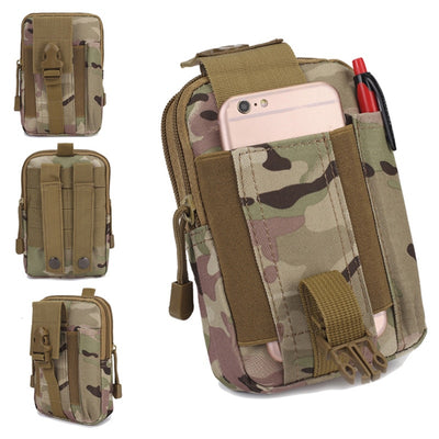 Tactical Waist Pouch Molle Hunting Belt Bag - Happy Health Star
