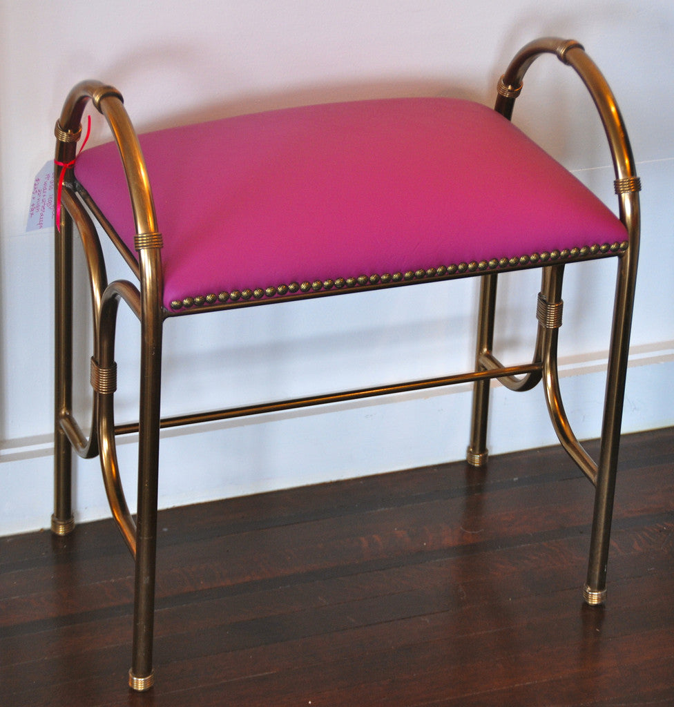 Brass Bench - SOLD