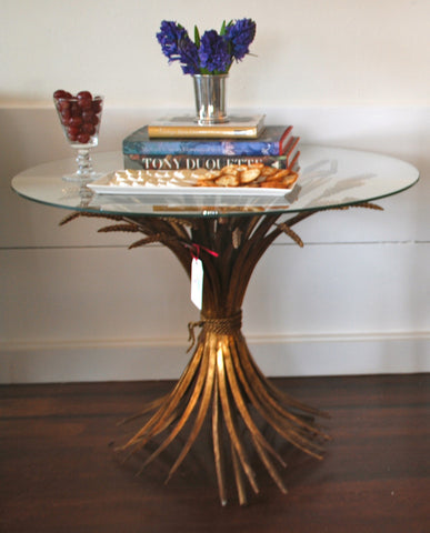 Wheat Sheath Table - SOLD