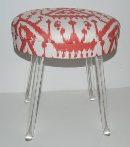 Lucite Leg Stool-SOLD