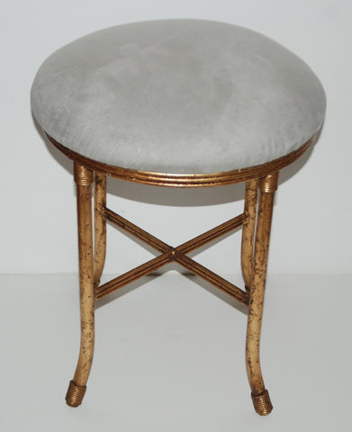 Italian Gilt Stool-SOLD