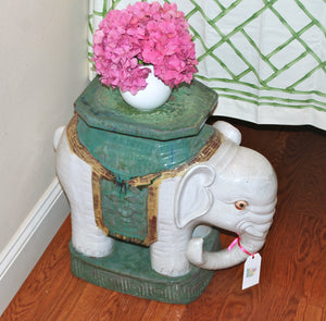 Elephant Side Table-SOLD