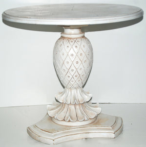 Pineapple Pedestal Table-SOLD