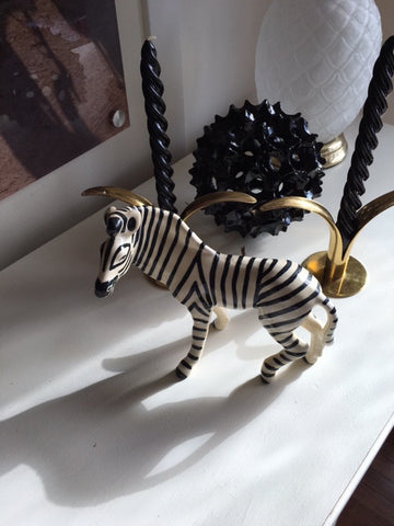 1940's Zebra Figurine-SOLD