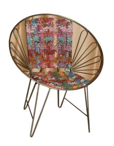 Iron Chindi Chair