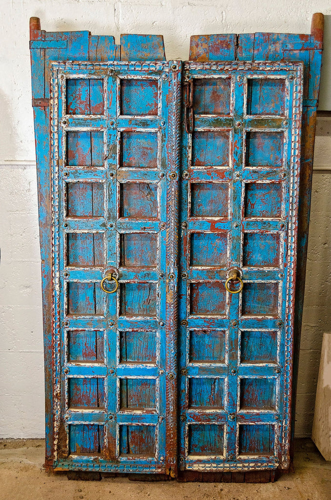 Antique Shutter Door Panel