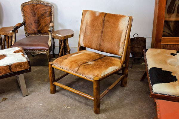 Pacino Goat Hide Chair