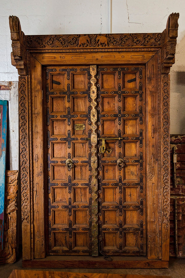 Antique Royal Door