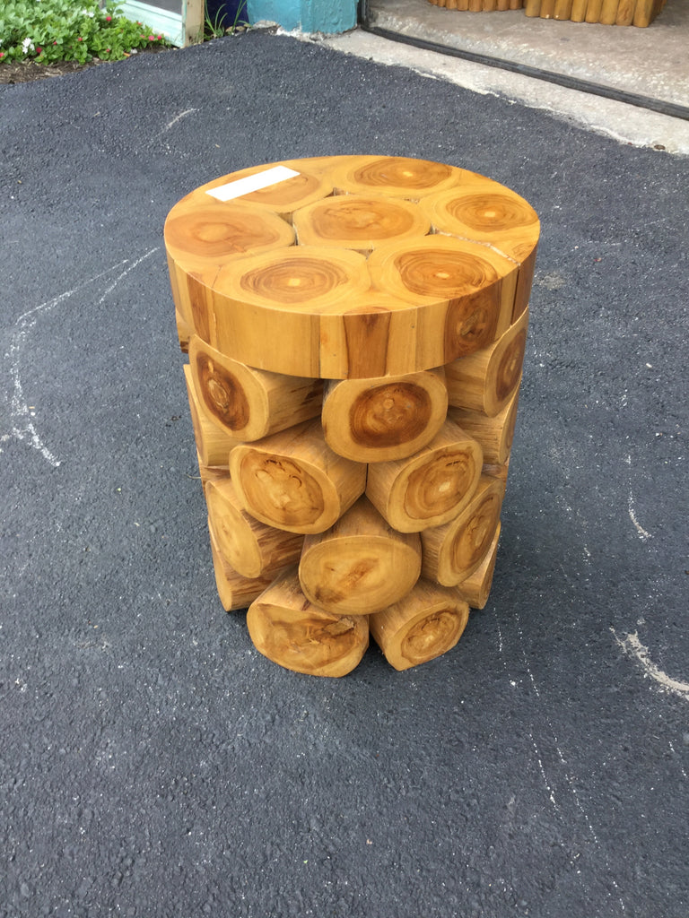 Maurice Log Stool