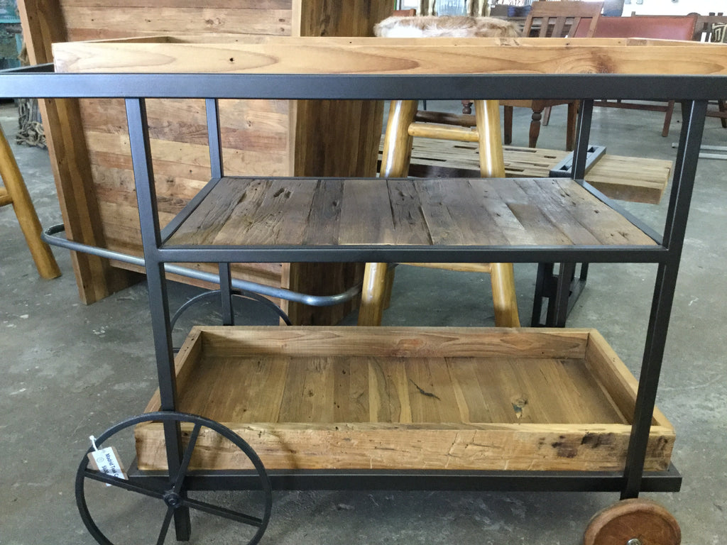 Madrid teak cart