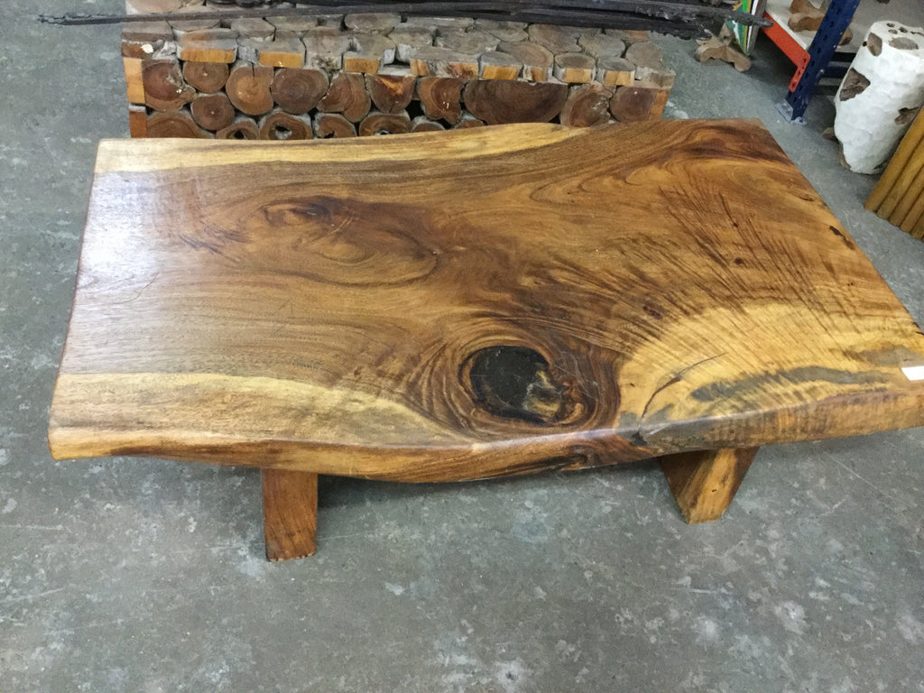 Live edge sugar wood table
