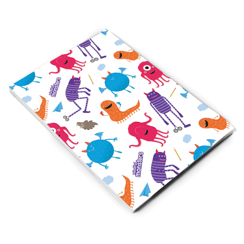 Monsters Pattern A5 Notepad