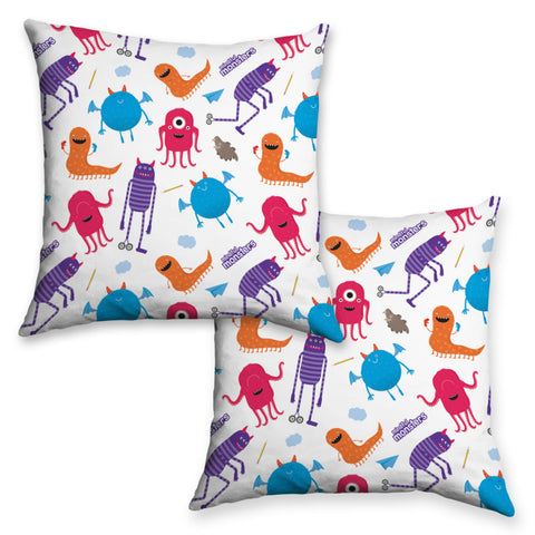 Monsters Pattern Cushion