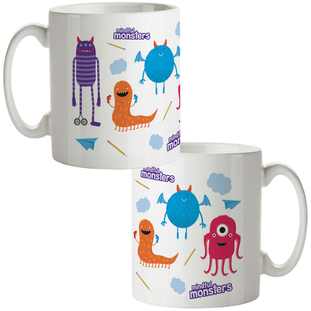 Monsters Pattern Mug