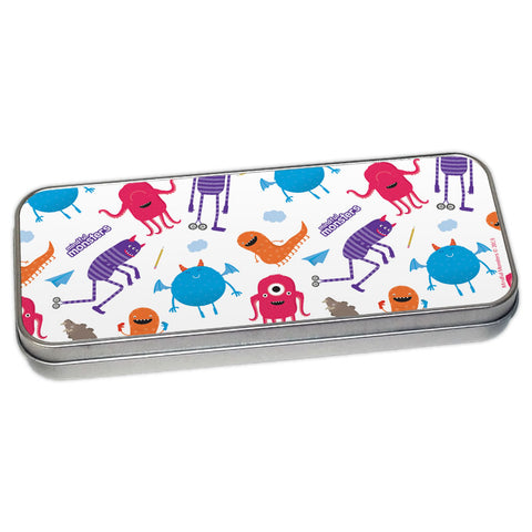 Monsters Pencil Tin