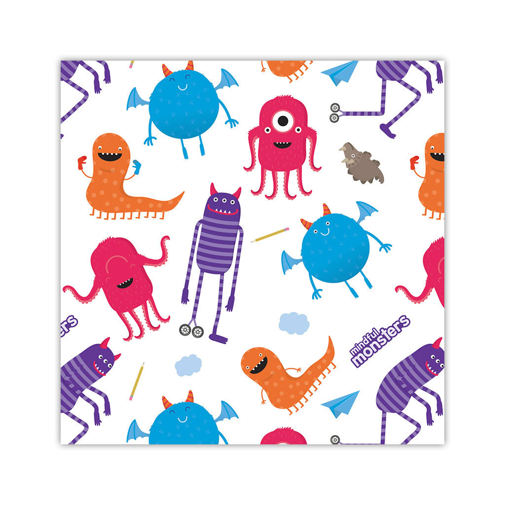 Monsters Square Print 3