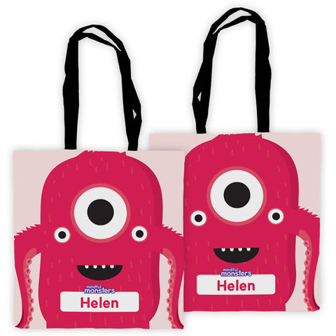 Personalised Edge to Edge Totes