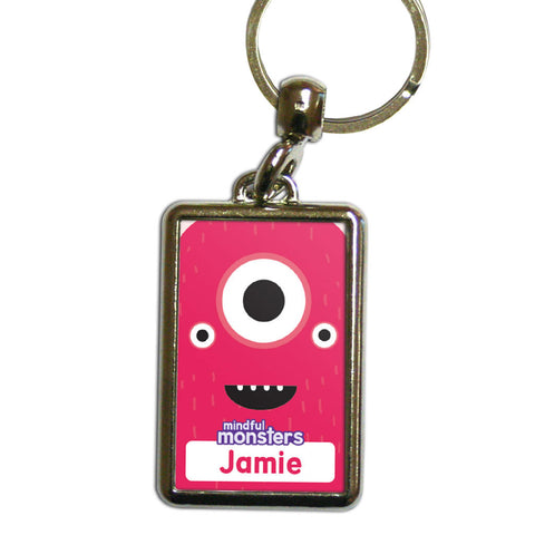 Sparky Personalised Metal Keyring