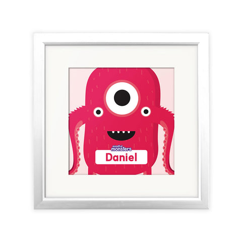 Sparky Personalised Square Print