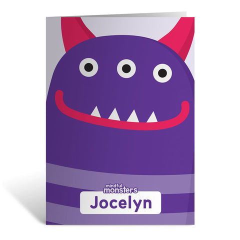 Thinky Personalised Greeting Card