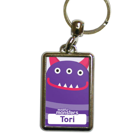 Thinky Personalised Metal Keyring